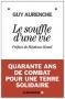 """Couverture du livre : """"Le souffle d'une vie"""""""