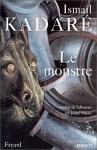 """Couverture du livre : """"Le monstre"""""""