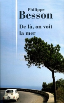 """Couverture du livre : """"De là, on voit la mer"""""""