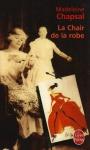 """Couverture du livre : """"La chair de la robe"""""""