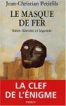 """Couverture du livre : """"Le Masque de fer"""""""