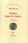"""Couverture du livre : """"Lituma dans les Andes"""""""