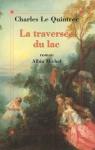 """Couverture du livre : """"La traversée du lac"""""""