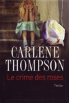 """Couverture du livre : """"Le crime des roses"""""""