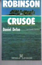 """Couverture du livre : """"Robinson Crusoë"""""""