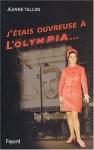"""Couverture du livre : """"J'étais ouvreuse à l'Olympia..."""""""