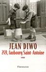 """Couverture du livre : """"249, faubourg Saint-Antoine"""""""