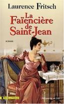 """Couverture du livre : """"La faïencière de Saint-Jean"""""""