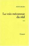 """Couverture du livre : """"La voix méconnue du réel"""""""