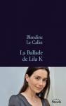 """Couverture du livre : """"La ballade de Lila K."""""""