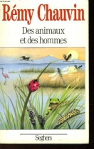 """Couverture du livre : """"Des animaux et des hommes"""""""