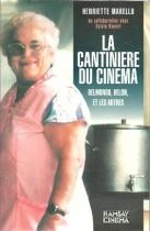 """Couverture du livre : """"La cantinière du cinéma"""""""