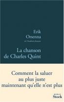"""Couverture du livre : """"La chanson de Charles Quint"""""""