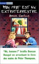 """Couverture du livre : """"Mon prof est un extraterrestre"""""""