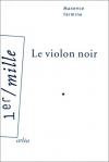 """Couverture du livre : """"Le violon noir"""""""