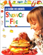 """Couverture du livre : """"Sandwichs en fête"""""""