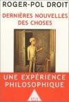 """Couverture du livre : """"Dernières nouvelles des choses"""""""