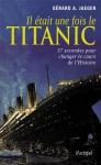 """Couverture du livre : """"Il était une fois le Titanic"""""""