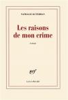 """Couverture du livre : """"Les raisons de mon crime"""""""