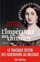 """Couverture du livre : """"L'impératrice aux chimères"""""""