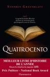 """Couverture du livre : """"Quattrocento"""""""