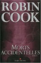 """Couverture du livre : """"Morts accidentelles"""""""