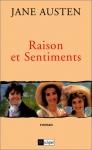 """Couverture du livre : """"Raison et sentiments"""""""