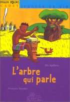 """Couverture du livre : """"L'arbre qui parle"""""""
