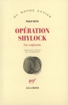 "Couverture du livre : ""Opération Shylock"""