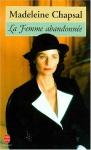 """Couverture du livre : """"La femme abandonnée"""""""