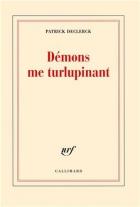 """Couverture du livre : """"Démons me turlupinant"""""""