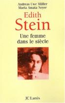 """Couverture du livre : """"Edith Stein"""""""