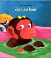"""Couverture du livre : """"Zaza au bain"""""""