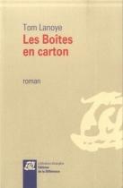 """Couverture du livre : """"Les boîtes en carton"""""""