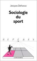 """Couverture du livre : """"Sociologie des sports"""""""