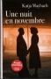 """Couverture du livre : """"Une nuit en novembre"""""""