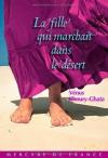 """Couverture du livre : """"La fille qui marchait dans le désert"""""""