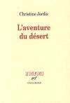 """Couverture du livre : """"L'aventure du désert"""""""