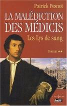 """Couverture du livre : """"Les lys de sang"""""""