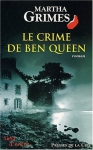 """Couverture du livre : """"Le crime de Ben Queen"""""""