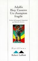 """Couverture du livre : """"Un champion fragile"""""""