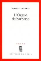 """Couverture du livre : """"L'orgue de barbarie"""""""