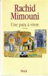 """Couverture du livre : """"Une paix à vivre"""""""