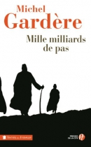 """Couverture du livre : """"Mille milliards de pas"""""""