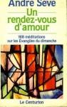 """Couverture du livre : """"Un rendez-vous d'amour"""""""