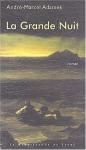 """Couverture du livre : """"La Grande Nuit"""""""