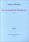 """Couverture du livre : """"Le testament français"""""""