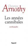 """Couverture du livre : """"Les années cannibales"""""""