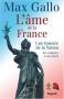 """Couverture du livre : """"L'âme de la France"""""""