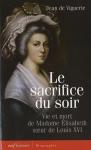 """Couverture du livre : """"Le sacrifice du soir"""""""